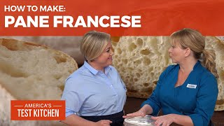 How to Make Rustic Pane Francese