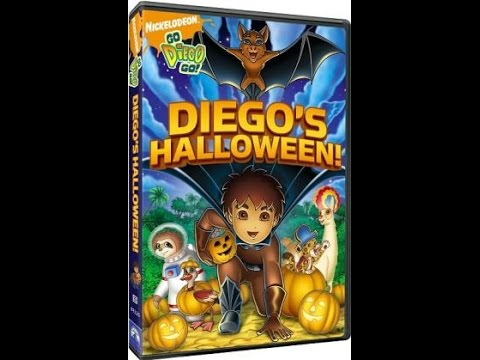 opening to go diego go diegos halloween 2008 dvd
