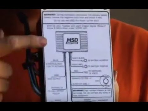 MSD Digital 6AL-2 Ignition Control Tutorial Overview CarJunkieTV