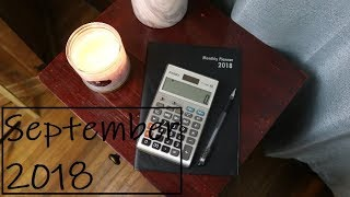 BUDGET WITH ME - September 2018 | Jennifer Witherspoon