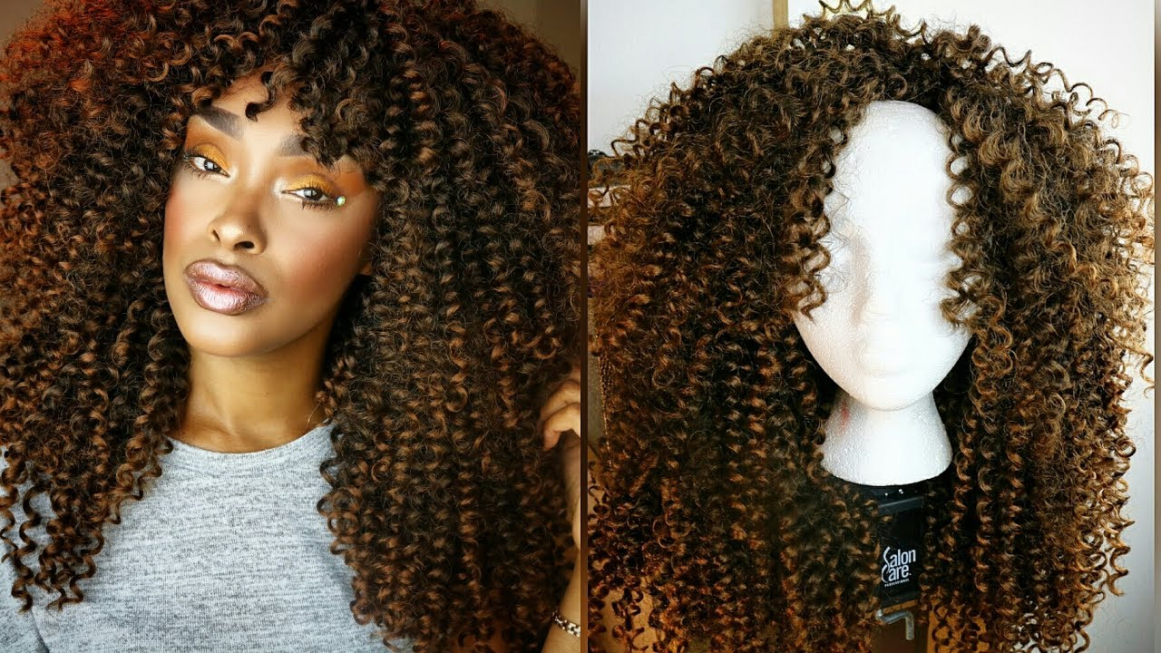 How To Make Naturally Curly Hair Huge