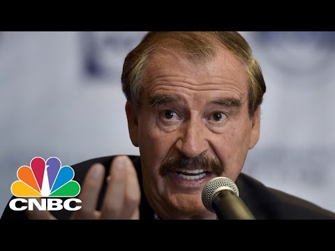 Vicente Fox: Donald Trump Is An Illegitimate President | Power Lunch | CNBC