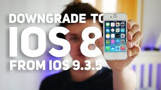 Downgrade iOS 935 to 841 - iPhone 4S