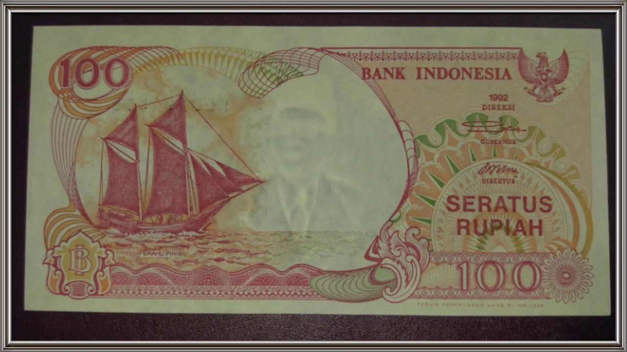 Kolektor Dan Koleksi Uang Kuno Indonesia 100 Rupiah Perahu Pinisi