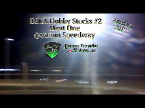 IMCA Hobby Stock #1, Heat, Salina Speedway, 2017
