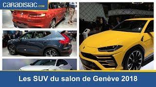 Les nouveautés SUV du salon de Genève 2018
