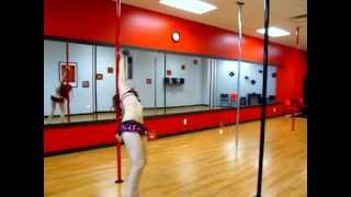 Midwest Pole Dance Competition 2012 - Kyrsten Grimm - Regional Elite