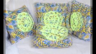 Коллекция подушек ручной работы