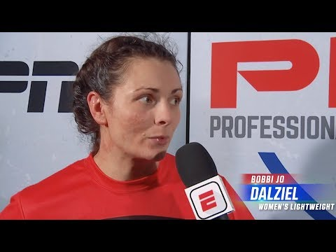 Bobbi Jo Dalziel Remains Undefeated | PFL 1 2019 Post Fight Interview With Ray Flores
