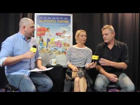 Asher Keddie and Stephan Elliott  Swinging Safari