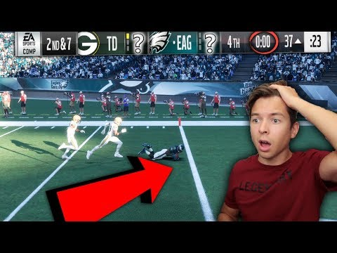 THE GAME WAS DECIDED ON THIS PLAY! I CANT BELIEVE IT! MADDEN 18 SUPER SQUAD #29