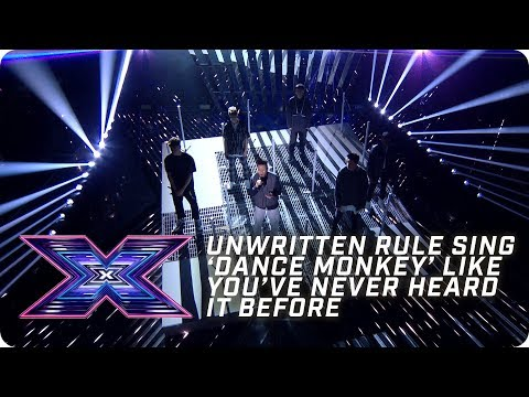 Unwritten Rule sing 'Dance Monkey' like you've never heard it! | X Factor: The Band | The Final