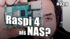 Raspberry Pi 4 als NAS | c't uplink 32.9