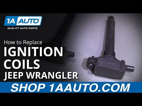 How to Replace Ignition Coils 12-17 Jeep Wrangler