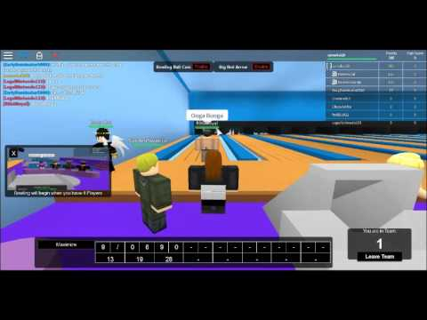 ROBLOX Ro-Bowl Bowling Center Union 2: Strikes n' Spares
