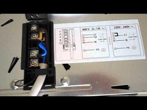 Как подключить электрическую варочную панель электролюкс