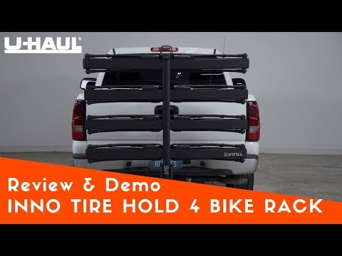 hitch mounted 4 bike rack installation