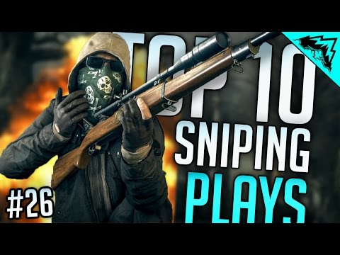 SNIPING = 🙌 , TOP 10 Battlefield HARDLINE SNIPING Kills (Bonus Plays #26)