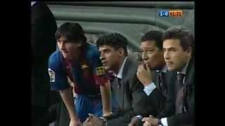 O Primeiro gol de Messi (01-05-2005)