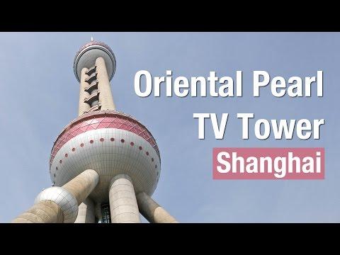 Torre televisión en Shanghai