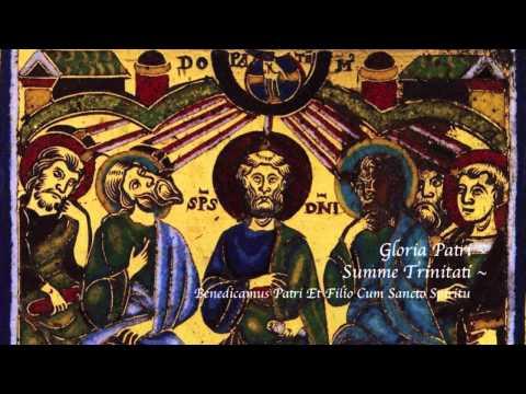 Gregorian chant - Summe Trinitati