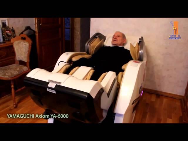 Отзыв покупателя о массажном кресле Yamaguchi Axiom