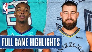 HORNETS at GRIZZLIES | FULL GAME HIGHLIGHTS |  December 29, 2019