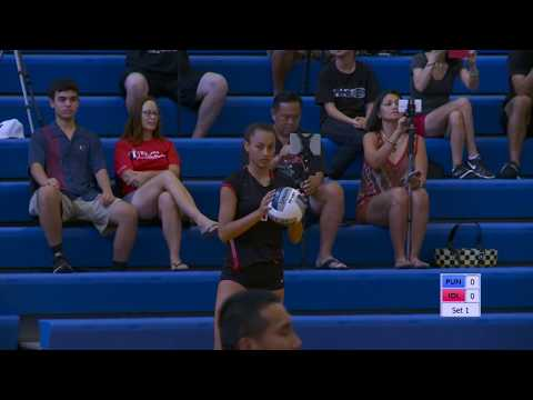 2017-2018 Girls Volleyball: Punahou vs Iolani (September 5, 2017)