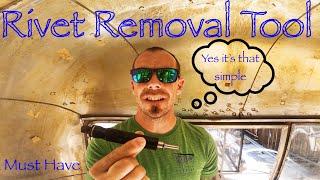 Rivet Removal Tool (Its Jขst That Simple)