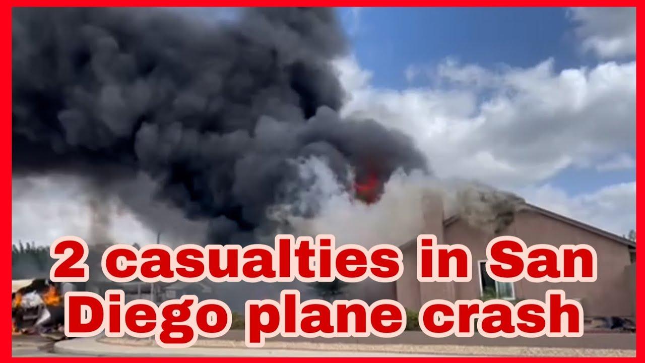 San Diego plane crash: At least 2 dead, including cardiologist