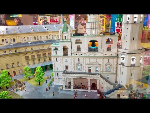 We Found Awesome LEGO Displays at a Russian Toy Store