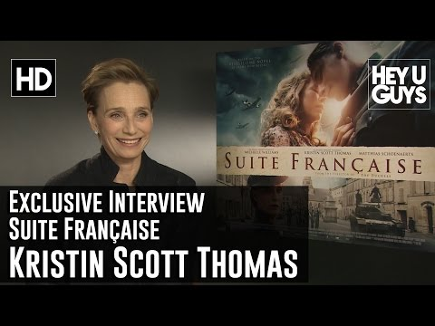 Kristin Scott Thomas Exclusive Interview - Suite Française