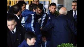 Lionel Messi à la rescousse d'un enfant en pleurs