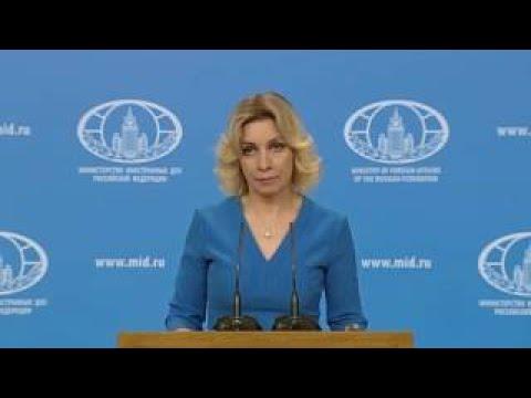 Zakharova slams western media's 'double standards' after St. Petersburg attack