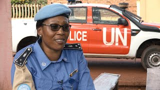Service and Sacrifice: Cameroonian peacekeeper empowering women and girls thumbnail