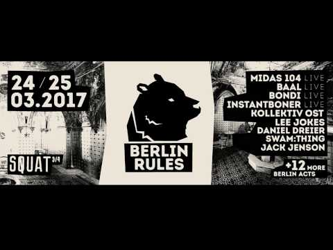 Electronic Elephant  (Bordel des Arts / Station Endlos)  - Berlin Rules #001 [25.03.2017] SPTV