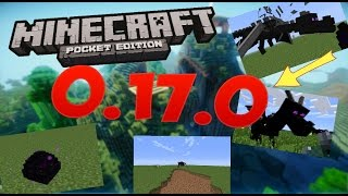 КАК ПРИЗВАТЬ ДРАКОНА КРАЯ В ОБЫЧНОМ МИРЕ в Minecraft PE 0.17.0