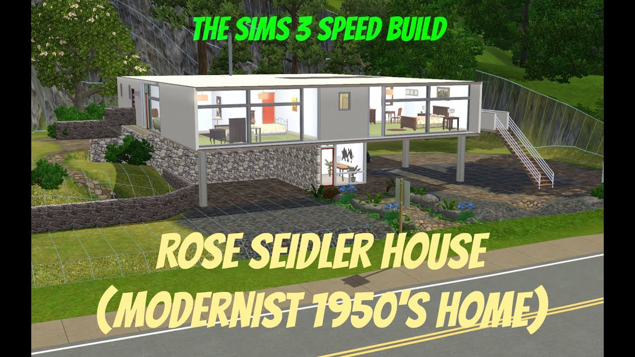 The Sims 3 House Building Rose Seidler House 1950 39 S