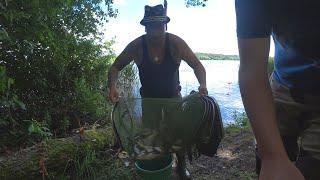 Рыбалка на озере Новое знакомство