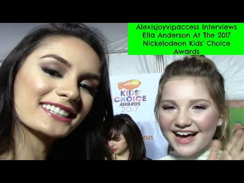 Henry Danger's Ella Anderson Interview With Alexisjoyvipaccess - 2017 KCA