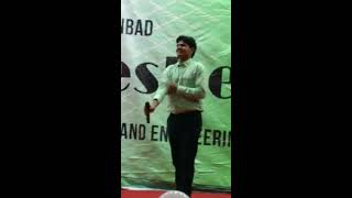 Shayari Recitation At Iit Ism Dhanbad