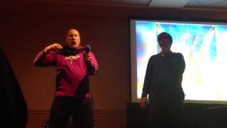 Master Jonathan Goldman and Dr. Todd create an improvisation in Boulder Colorado 2014