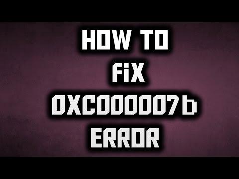How To Fix Error Code 0xc000007b Fix Error Code It Works For