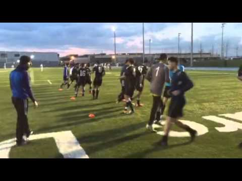 Toronto Elites Football Club (Warming Up Before The First Gam