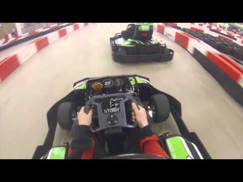 Few laps at Powerkart Raceway Canberra