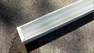 Removing Anodizing from aluminum trim #2