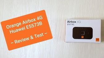 Prezentare, test si pareri Airbox 4G Orange - Huawei E5573 4G - cum sa ai net pe tableta si laptop