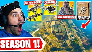Warzone is Now A NEW Game! First Win + Battlepass Reaction! 🤯 (Cold War Warzone)