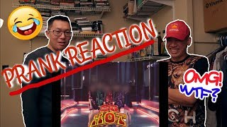 PRANK REACTION!!!! (My Friend was NOT READY) ft. Celeb Five - I wanna be a Celeb MV Reaction - Stafaband