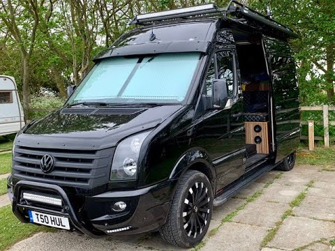 We fit CCTV for stealth camping in our VW Crafter Camper Van
